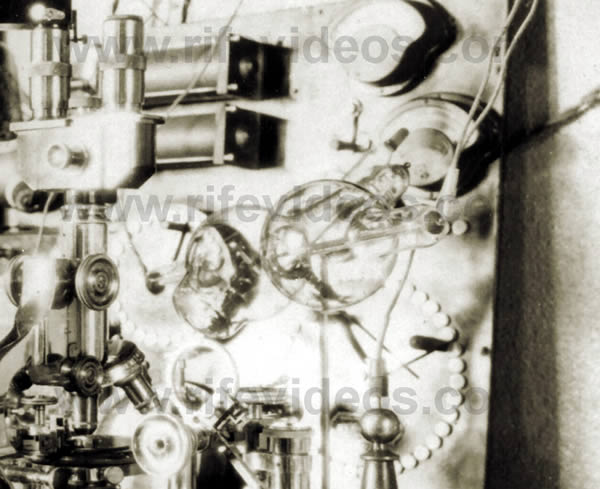 Rife's Ray Tube In Laboratory