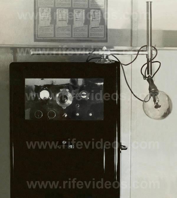 Beam Ray Clinical Rife Machine